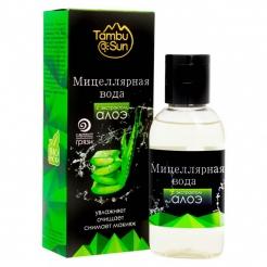 Мицеллярная вода для снятия макияжа «Tambusun» с экстрактом алоэ 50 мл.