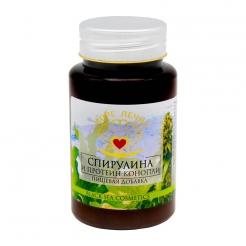 Пищевая добавка «Спирулина и протеин конопли» 130 мл.